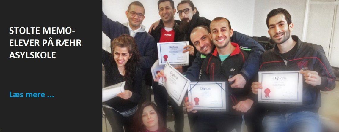 Stolte Memo-elever på Ræhr Asylskole