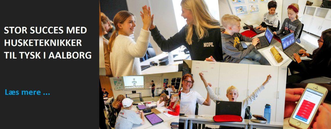 Stor succes med husketeknikker til tysk i Aalborg