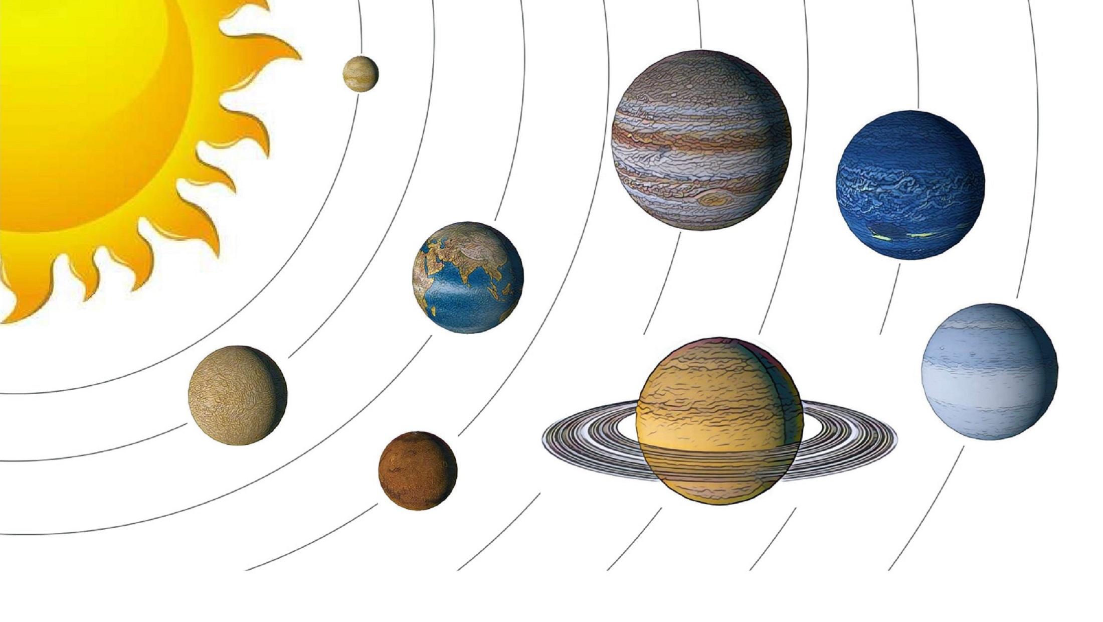 Vores solsystem WEB